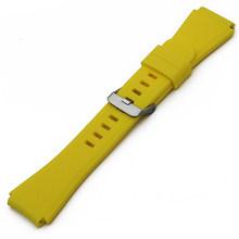 Силиконовый резиновый ремешок для часов 22 мм для Rolex Нержавеющаясталь булавки туфли с ремешком и пряжкой Quick Release запястье петли для ремня б...(Китай)