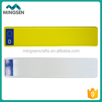 Euro Reflective Vehicle Blank Car Number Plates Buy Vehicle Number