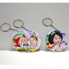New design heat transfer sublimation blank key chain
