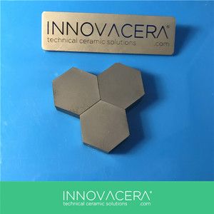 Wear Resistant Silicon Carbide Ceramic SIC Armor Vehicle Tiles/INNOVACERA