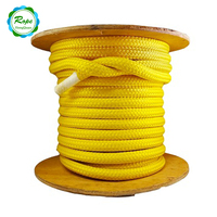 Factory hot sales high quality 20mm plastic coated double braided nylon rope