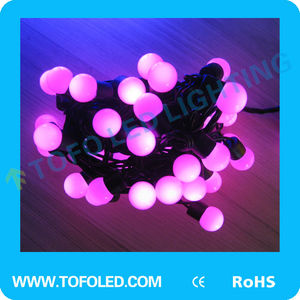 2014 holiday Festival LED cotton ball string lights