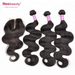 Unprocessed brazilian 3 bundles hair extension no tangle no shed hair no weft