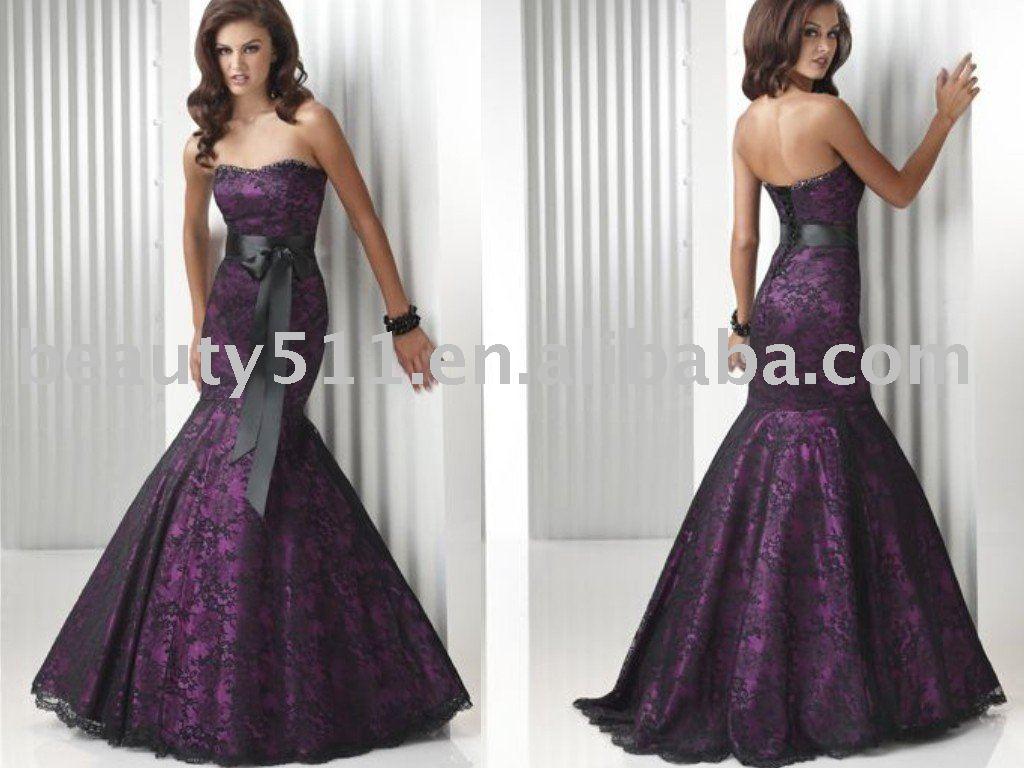Elegant Mermaids Formal Evening Dress Ql1065