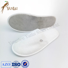 custom washable Coral fleece material hospital slippers