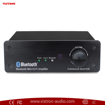 Mini Digital Stereo Powerful 75W watts Power Amplifier Compact Class D digital amplifier ,bluetooth device ,RCA ,3.5 Line in