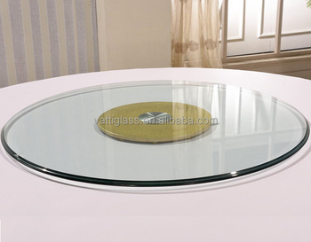 Tempered Glass Lazy Susan 50cm 60cm 70cm 90cm, Lazy Susan Turntable For Patio  Table