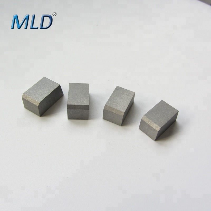 H10 H20 H30 cemented carbide cutting tips in various type from Zhuzhou Meilidi