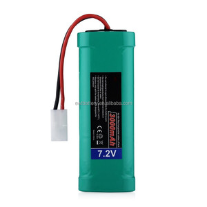 7.2V 3000mAh High Power Rechargeable NiMH Battery Pack Low-self Discharge with KET Connectors for RC Cars, RC Truck, RC Airplane