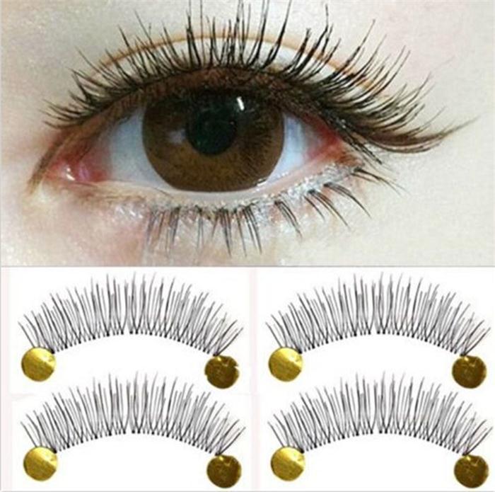 033459fe553 Wholesale =New Makeup False Eyelashes Soft Natural Cross Long Eye ...