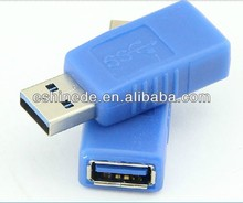 USB3.0 Male to Female Connector Conventer USB 3.0 AM / AF Adapter Blue