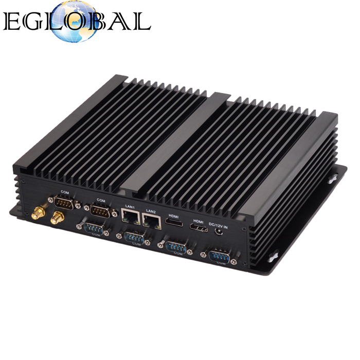 Dual NICs 6 RS232 Port Mini Desktop PC with i5 4200u Core as Gaming Server Fast Computer for Home
