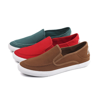 Canvas slip-on boy sneakers