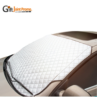 Customized PE Aluminum Foil Foldable Car Front Windshield Sunshade for Promotion