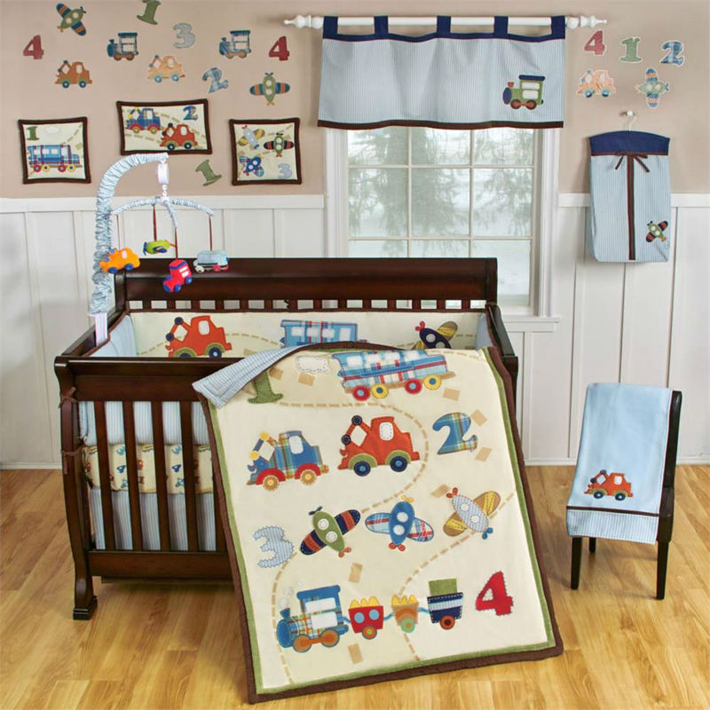 Train Truck Car Lique Crib Bedding Sets Baby Set Product On Alibaba
