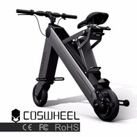 High quality newest mini two wheels smart foldable electric bike with LCD screen