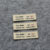 Free Sample Custom Cloth Labels Tags Clothing Main Woven Labels for Shirt Garment Clothing