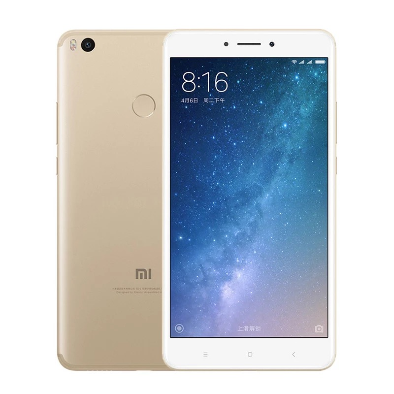 Factory Price Original Xiaomi MI Max 2 Mobile Phone 4GB RAM 64GB ROM Snapdragon 425 Quad Core up to 1.4GHz CPU фото