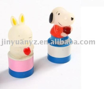 The hot selling and new fashion style plastic kids toy stamp