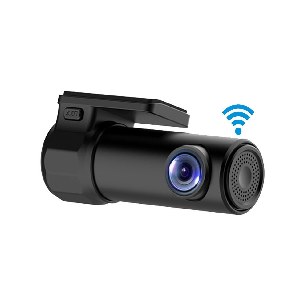 small wireless hidden rear view dash board camera with night vison