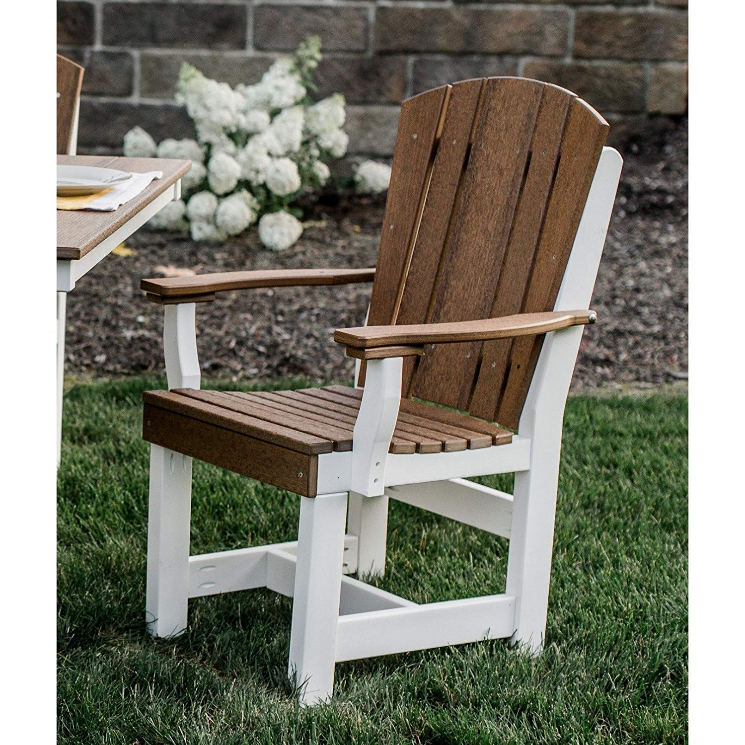 Wildridge Heritage Outdoor Dining Chair with Arms - Ships in 10-14 Business Days