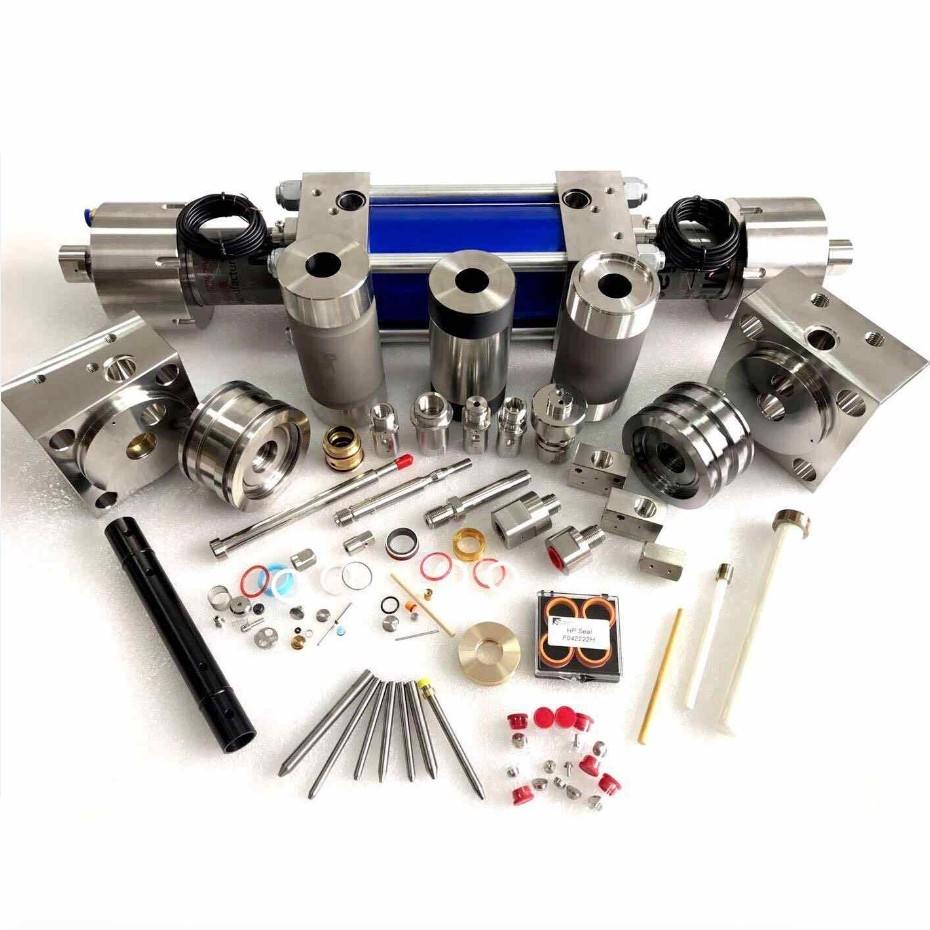 WHP brand high quality with nice price kinds of standard water jet cutting machine spare parts, waterjet parts