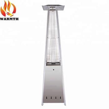 CZGB I Outdoor Quartz Tube Pyramid Flame Natural Gas Patio Heater With CE  Certification/