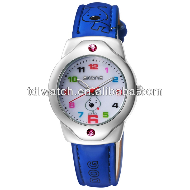 Hot Selling Multiple Colors Cartoon Watch For Children
