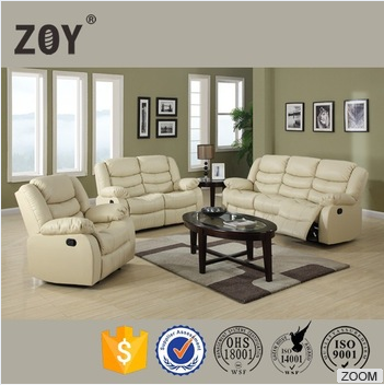 ZOY heated bonded leather mdoern living room furniture sofa set,zoy sofa 93935