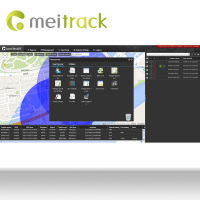 Meitrack cell phone tracking software GPS Tracking software for gps tracker with google Maps Customization accepted MS03
