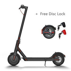 Manufacture Price 1:1 Xiaomi Mijia M365 Electric Scooter 2 Two Wheel Foldable Electric Scooter with free Disc Lock