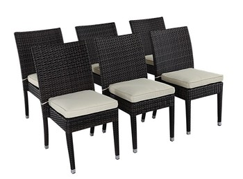 Modern Outdoor Furniture Restaurant Used Dining Rattan Chair