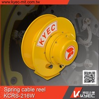KYEC auto retractable spring cable reel drum