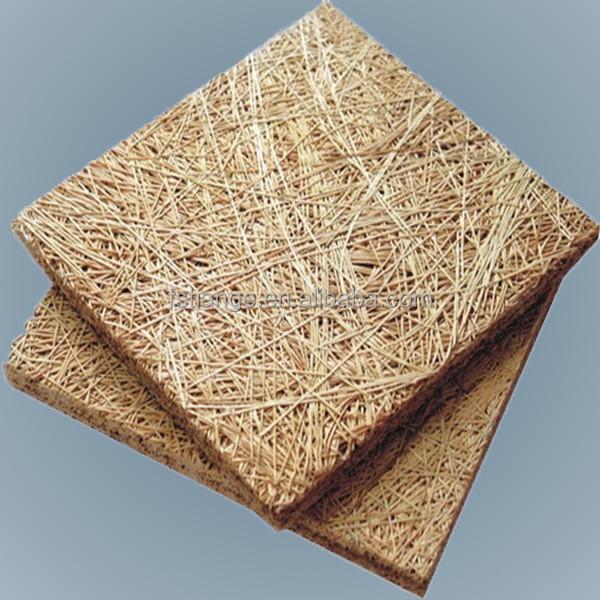 Lana de madera panel ac stico interior junta de fibra de - Panel madera cemento ...