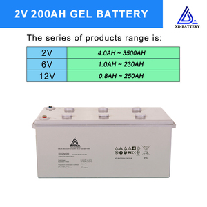 Chinese Sealed Lead Acid 2V 200AH Exide Battery Price