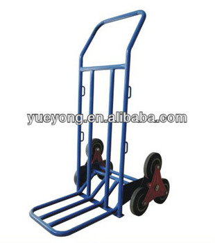 stair climbing hand truck hand trolley hand cart buy six wheel hand trolley for climbing. Black Bedroom Furniture Sets. Home Design Ideas