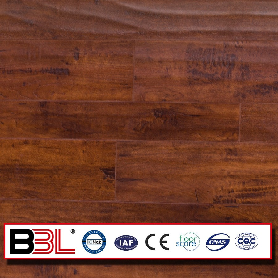 Laminate Flooring,Wood Laminated Technics and Engineered Flooring Type hand scraped laminate flooring
