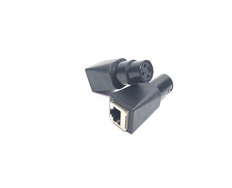 audio and video adapter  DMX to RJ45