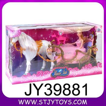 Baterai dioperasikan princess kereta hadiah boneka mainan untuk anak  perempuan dc2165297d