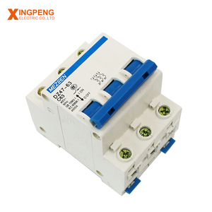Hot sales mcb distribution box C45n three pole mini circuit breaker 3P 32a mcb