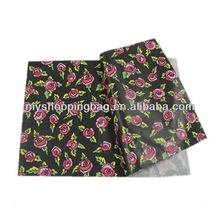 China Factory Raw Material Custom Printed Color Tissue Paper