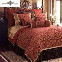 home textile comforter set /bed in a bag queen and king size duvet cover set
