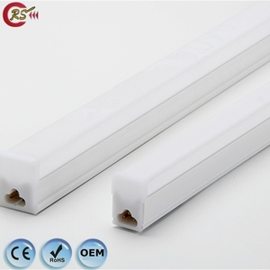 4ft waterproof light fixture dimmable 60cm 90cm 120cm 10w 15w 18w square T5 T8 dimmable LED tube light raw material