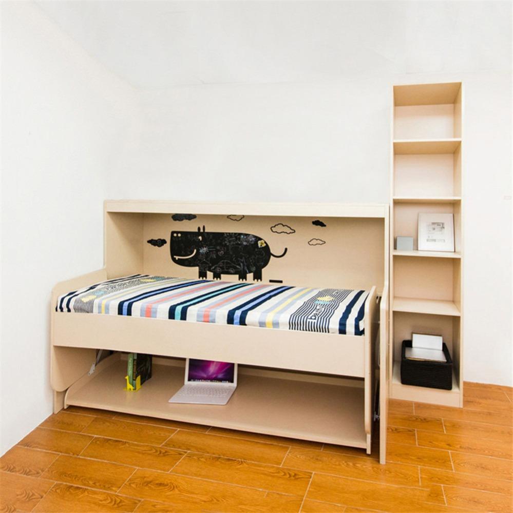Ni os cama plegable cama camas plegables de pared montado - Camas plegables para ninos ...