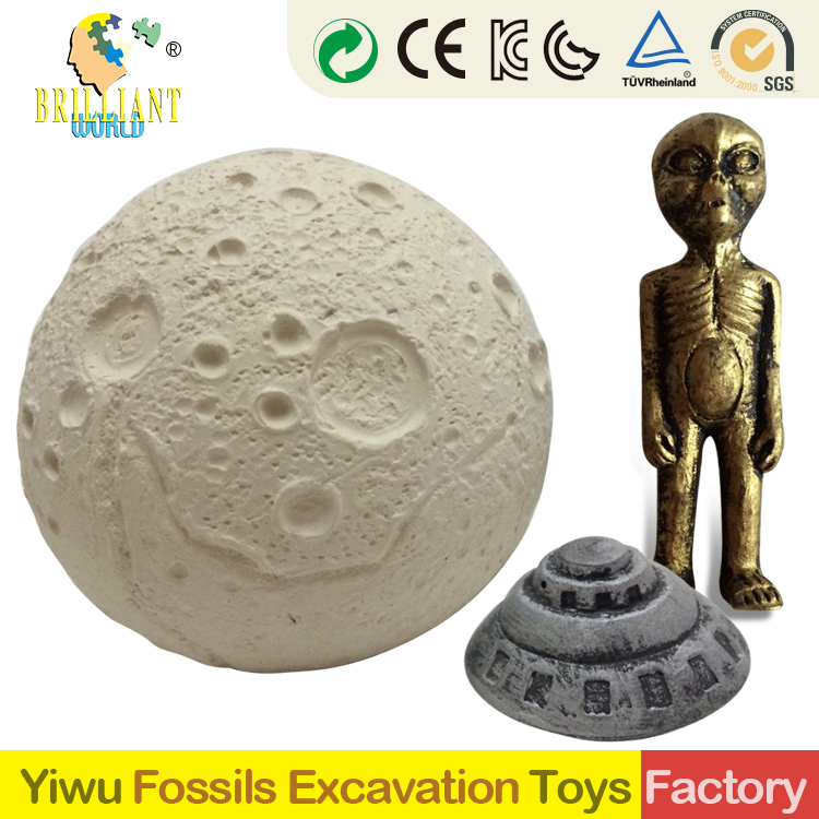 dig it out kids 2018 new gifts and crafts diy gypsum archaeology glowing Ancient mystery treasure Mars ET excavation kit toys