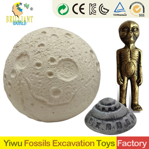 dig it out kids 2019 new gifts and crafts diy gypsum archaeology glowing Ancient mystery treasure Mars ET excavation kit toys