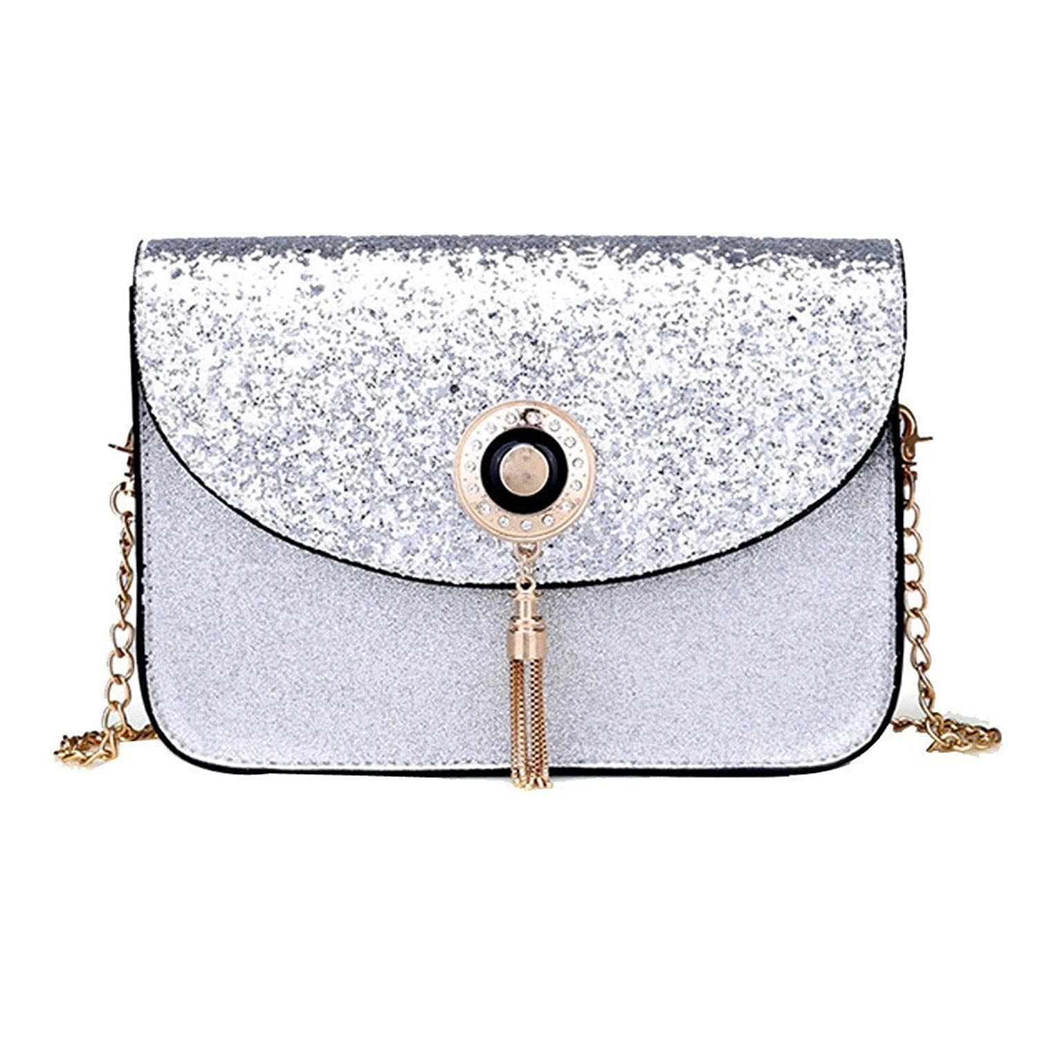 Liraly Gift Bags,Clearance Sale! 2018 Women Sequins Handbag Shoulder Bag Small Tote Ladies Purse Crossbody Bag