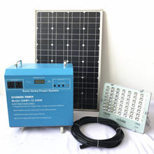 500W off grid solar power system kit for home TV refrigerator lights