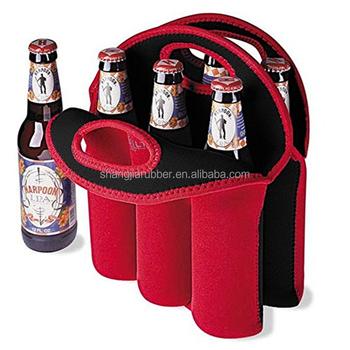 Cadeau Promotionnel 6 Pack Néoprène Refroidisseur De Bière De Vin Isolé Léger Biberon Isotherme Fourre tout Porte Buy Porte biberon,Glacière En