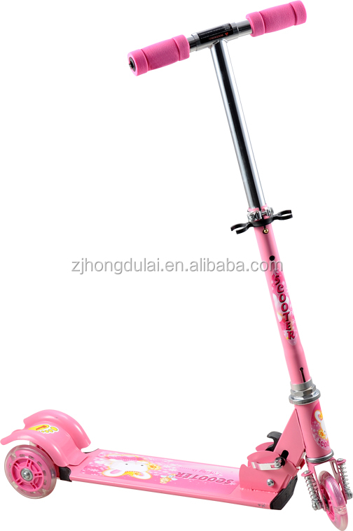 Iron pump scooter with shock absorber HDL-7306